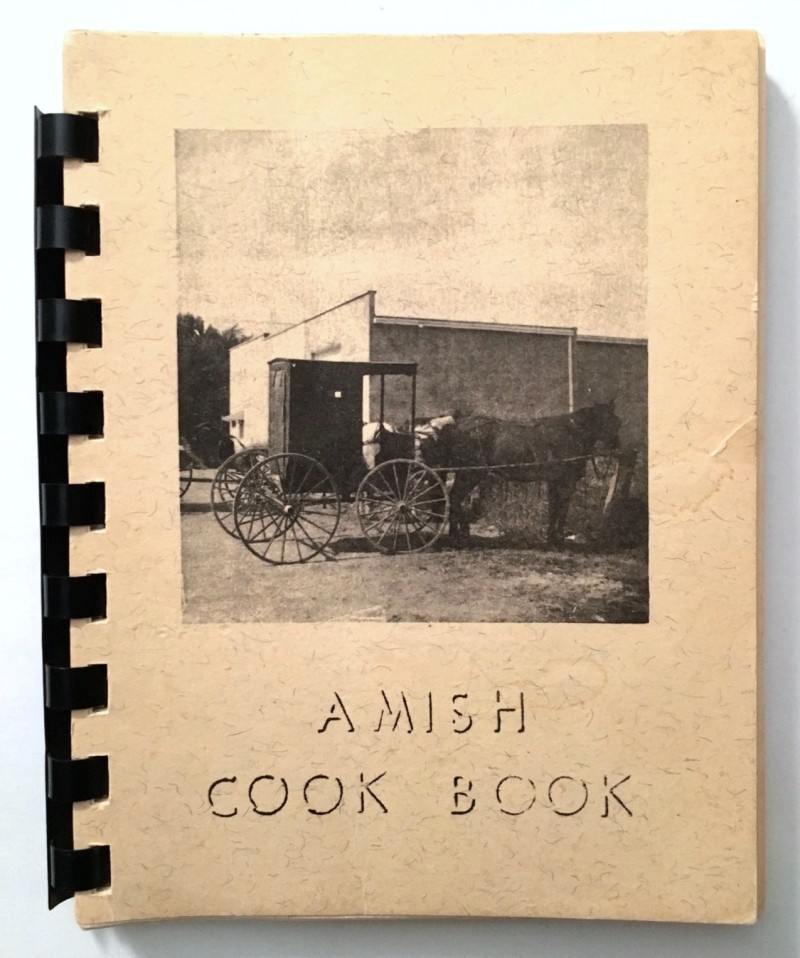 Amish Cookbook Cover